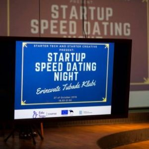 April  th  Startup Speed Dating Night  Venue to be confirmed  The biggest mentoring event in Estonia  Come and chat with more than    experts and ask their